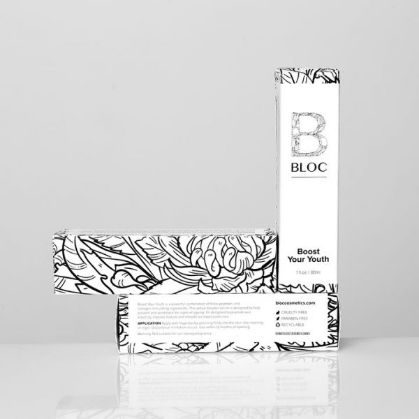 Bloc Boost Your Youth Serum Available at Skin Clinica