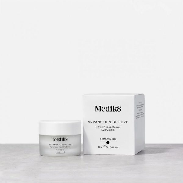 Medik8 Advanced Night Eye Rejuvenating Repair Eye Cream - Skin Clinica