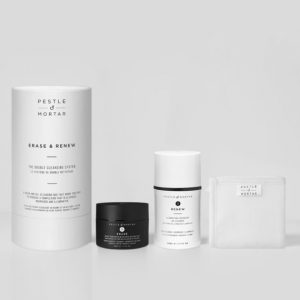 Pestle & Mortar Erase & Renew The Double Cleansing System Set Available At Skin Clinica