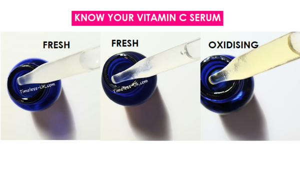 How to know whether your vitamin C serum is oxidising - Skin Clinica