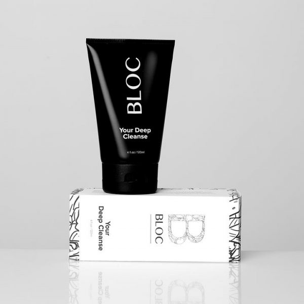 Bloc Your Deep Cleanse is a Cleanser Specifically Designed for Acne, Blemished and Oily Skin - Skin Clinica