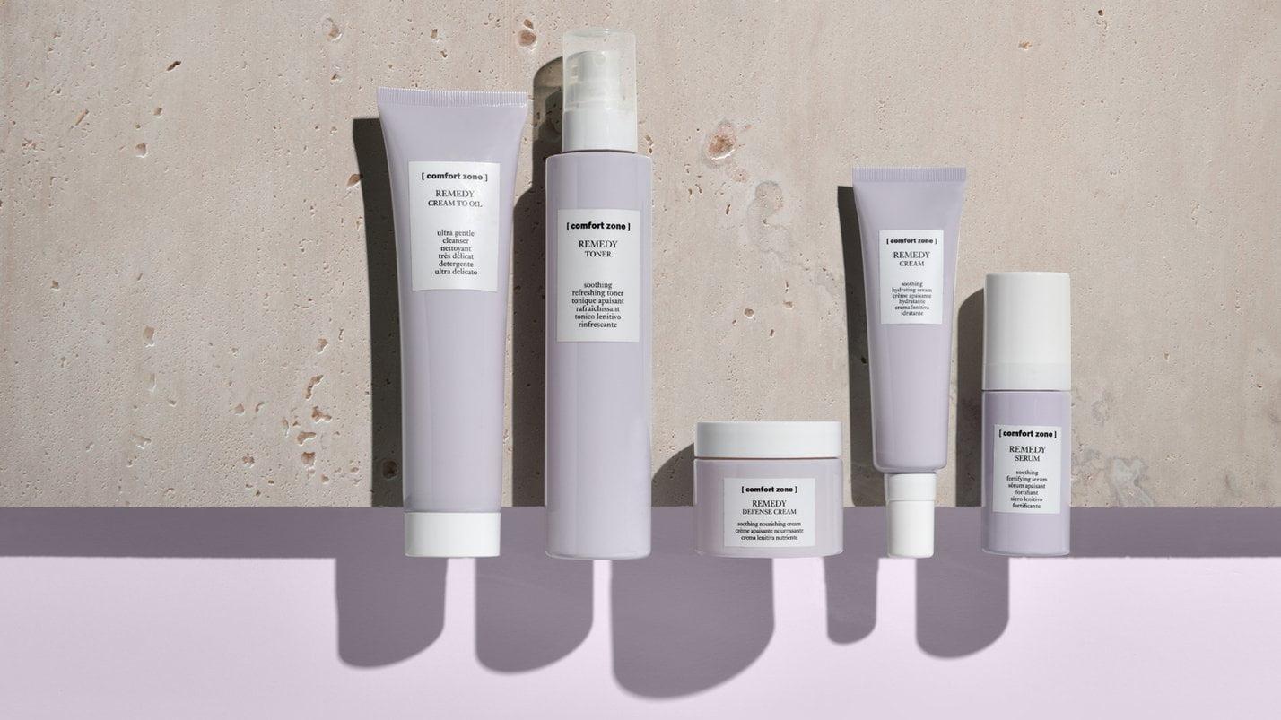Comfort Zone Remedy Range-Best skin care for sensitive red skin